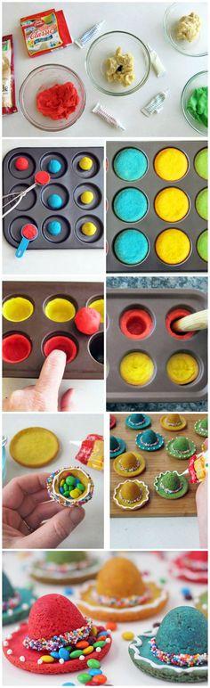 CINCO DE MAYO! Sombrero Piñata Cookies #bettycrcoker
