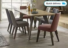 Make every meal a stylish dining experience with a beautifully crafted dining table from Furniture Village. Extendable Dining Table, Dining Room Table, Table And Chairs, Dining Chairs, Wooden Kitchen, Kitchen Dining, Solid Oak Furniture, Furniture Village, Oval Table