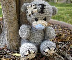 Free Patterns by H: Tatty Teddy Crochet Pattern ༺✿Teresa Restegui http://www.pinterest.com/teretegui/✿༻