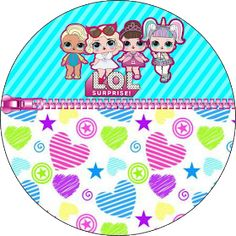 Fiestas Personalizadas Imprimibles: Topper LOL para imprimir Gratis Lol Doll Cake, Doll Party, Lol Dolls, Cute Toys, Cake Toppers, Birthday Parties, Kids Rugs, Baby, Toys