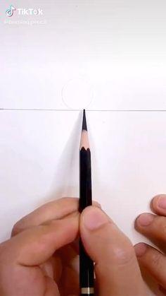 3d Art Drawing, Art Drawings For Kids, Art Drawings Sketches Simple, Pencil Art Drawings, Nature Sketches Pencil, Beach Drawing, Drawing Ideas, Simple Cute Drawings, Beach Sketches