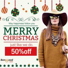 banggood, discount, coupon, women, clothing, christmas