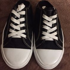 Coach slip on tennis shoes These are a re-posh I Fell in love with them but they do not fit me 😥 so my loss and your gain! These were worn maybe once or twice these are in very good condition Coach Shoes Sneakers