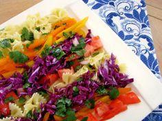 Pasta Salad with Honey Cilantro Dressing   Tasty Kitchen: A Happy Recipe Community!