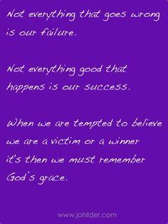 God's grace  www.johilder.com