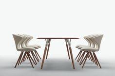 Ideal para hoteles, oficina, hogar y restaurantes: Silla CONCEPT by UPPER PANAMA  Esta fabricada en espuma de poliuretano integral con marco de acero interno. Cromo polaco o marco satinado cromado.