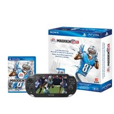 Game Console PS Vita Madden NFL 13 PlayStation Vita Wi Fi Bundle #Game Console #PS Vita