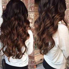 Terrific Rich chocolate ombré The post Rich chocolate ombré… appeared first on 99Haircuts .
