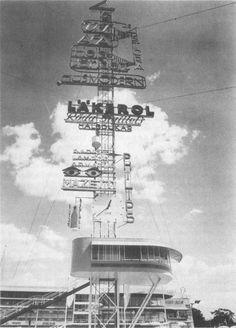 Erik Gunnar Asplund, Stockholm Exhibition advertising mast, 1930.