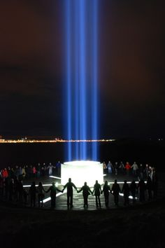 Taken from Yoko Ono´s facebook page =   Dear Friends,    On October 9th 2012, I will relight Imagine Peace Tower in memory of my late husband John Lennon, on the island of Viðey in Reykjavík, Iceland, for John's birthday.    Join our live coverage on Oct 9th, at http://IMAGINEPEACETOWER.com/