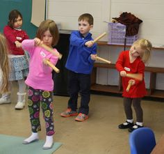 Movement, steady beat, crossing the midline :www.prekandksharing.blogspot.com
