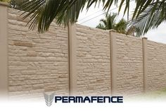 Precast Concrete Fencing . The developers of the Permacast Concrete Fence system performed intricate research through trial and error of all aspects of the design. It was soon concluded that the ability of the concrete fence to be affordable layed in the production process.