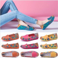 2017 Fashion Womens Casual Boat Shoes Slip On Ballet Flats Loafers Single Shoes | Clothing, Shoes & Accessories, Women's Shoes, Flats & Oxfords | eBay!