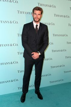 Actor Liam Hemsworth celebrates the unveiling of the renovated Tiffiany & Co. Beverly Hills store.