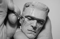 Tony Cipriano's step by step photos of his wax carving technique