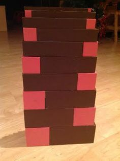 Montessori Pink Tower and Brown Stair Play options