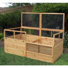 Amazon.com: Gardens to Gro 3 x 6 ft. Raised Vegetable Garden Bed with Hinged Fencing: Patio, Lawn & Garden