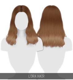 Sims 4 Hairs ~ Simpliciaty: Lora Hair - Hair Beauty World Les Sims 4 Pc, Sims Four, Sims Cc, Star Citizen, Sims 4 Mods Clothes, Sims 4 Cc Kids Clothing, Maxis, Sims 4 Black Hair, Pelo Sims