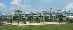 Ferry Landing Park located on Ocean Isle Beach on Shallotte Blvd. This park marks the original site of the ferry to Ocean Isle Beach. Enjoy the slides, swings, picnic area and an amazing view of the Intracoastal Waterway. Ocean Isle Beach Nc, Picnic Area, Swings, Playground, Landing, Gazebo, Things To Do, Outdoor Structures, Vacation