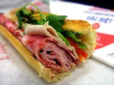Lee's Sandwiches. Vietamese style food and ice coffee. Mmm