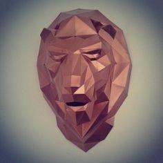 Gabe'sHead: conheça as cabeças de papel feitas por Gabriel - See more at: http://followthecolours.com.br/art-attack/cabecas-de-papel-de-gabriel/#sthash.fY6D5oBr.dpuf
