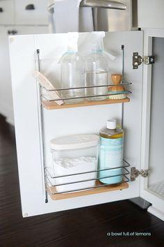 19 best under sink organization images organizers home rh pinterest com