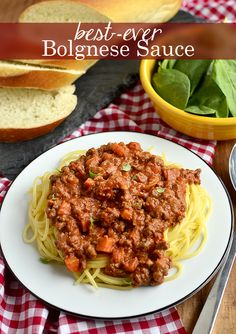 Best-Ever Bolognese Sauce - takes just 20 minutes!