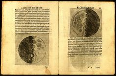 Galileo's Moon Drawings, the First Realistic Depictions of the Moon in History (1609-1610).