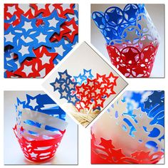 Independence Day 4th of July Themed Party Set by YourlittleCupcake, $40.00