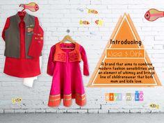 Nee & Oink #nee&oink  #stylemylo #kidsfashion #kidswear #designerwear #kidsoutfit #newcollection #indianwear #onlineshopping #babyboy #babygirl #makeinindia
