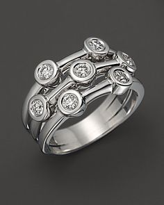 Roberto Coin Diamond Bezel Ring