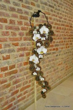 Interesting Modern rustic cascade bouquet