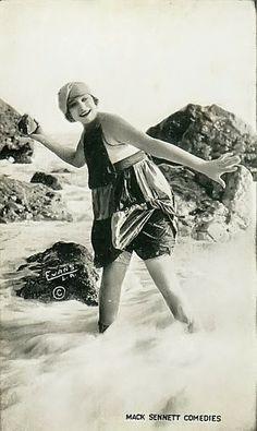 mack sennett bathing beauties   Mack Sennett Bathing Beauties, ca. 1910s-20s
