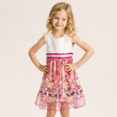 $32.99 (Buy here: https://alitems.com/g/1e8d114494ebda23ff8b16525dc3e8/?i=5&ulp=https%3A%2F%2Fwww.aliexpress.com%2Fitem%2FGirls-Dress-Short-Floral-Mesh-Lace-up-Princess-Dress-Fashion-Summer-Baby-Dress-Wedding-Kids-Baby%2F32688300954.html ) Girls Dress Cute Floral Mesh Lace-up Princess Dress Fashion Summer Baby Dress Wedding Kids Baby Little Girl Clothes Vestido Hot for just $32.99