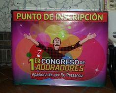 El punto de inscripción al #CongresoDeAdoradores tiene nueva presentación.