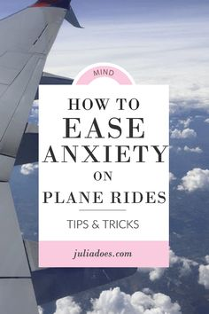 A fear of flying can severely impact a person's life, in far more ways than it may appear on the surface. Those struggling with a fear of flying may limit their travel by plane, pass up on career opportunities, miss out on spending t How To Ease Anxiety, Deal With Anxiety, Anxiety Tips, Anxiety Relief, Anxiety Facts, Social Anxiety, Airplane Hacks, Airplane Travel, Bon Voyage