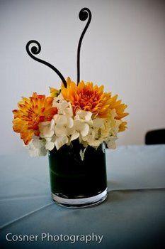 Wedding, Flowers, Reception, Centerpiece, Huckleberry karen designs