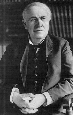 «Genius is 99% perspiration and 1% inspiration», T.Edison