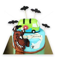 Desenele copilariei, Scooby Doo, sunt personalizate pe un tort delicios, marca Armand, la care sunt atasate cateva acadele in forma de lilieci, pentru un plus de efect. Tortul, in forma lui deosebita, sigur iti va incanta papilele gustative, atat tie, cat si copiilor prezenti la petrecere. Preturi incepand de la : 480 Lei. Cost: pret compozitie/kg + 120 lei manopera. Poate fi comandat pentru minim 4,5 kg.