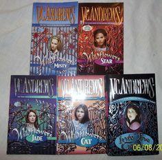 V.C. Andrews The Wildflowers Miniseries 5 books PB Lot Misty Star Jade Cat EUC