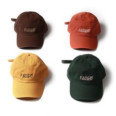 "@KNYEW ""Fall Tone Faded Strapback"" 