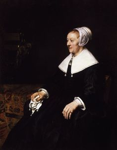 Catrina Hooghsaet, 1657,  Rembrandt van Rijn. Rembrandt's relationship with the Waterland congregation in Amsterdam has been discussed and summarised by several historians. As well as Catrina, Rembrandt had already painted other members of the congregation of Mennonites, as the Anabaptist denominations that followed the preachings of Menno Simons (1496–1561) of Friesland were called.