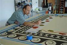painted floor designs - Bing Images