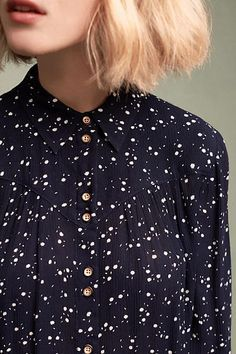 Bainbridge Buttondown blouse