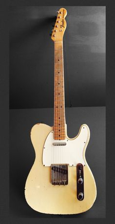 These fender telecaster guitar are awesome. Fender Bass Guitar, Fender Electric Guitar, Fender Guitars, Acoustic Guitar, Fender Stratocaster, Gretsch, Fender Vintage, Vintage Guitars, Guitar Shop