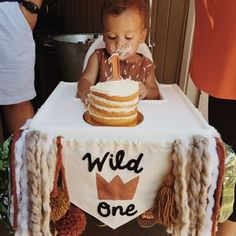 Love, Jordan: Hayes is Wild One!   Where The Wild Things Are First Birthday   Neutral Tropical Bohemian Minimal Birthday Party