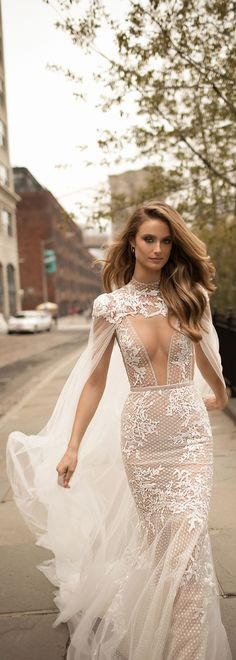 This stunning #BERTA style is now available to purchase off the rack at our NYC showroom