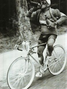 beer during the 1930 Tour de France - isotonic drink