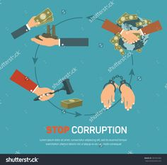 Corruption Infographic Banner Set With Corrupt Business And Politics Flat Elements Isolated Vector Illustration - 307431095 : Shutterstock