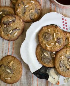 Chocolate Malted Crunch Cookies